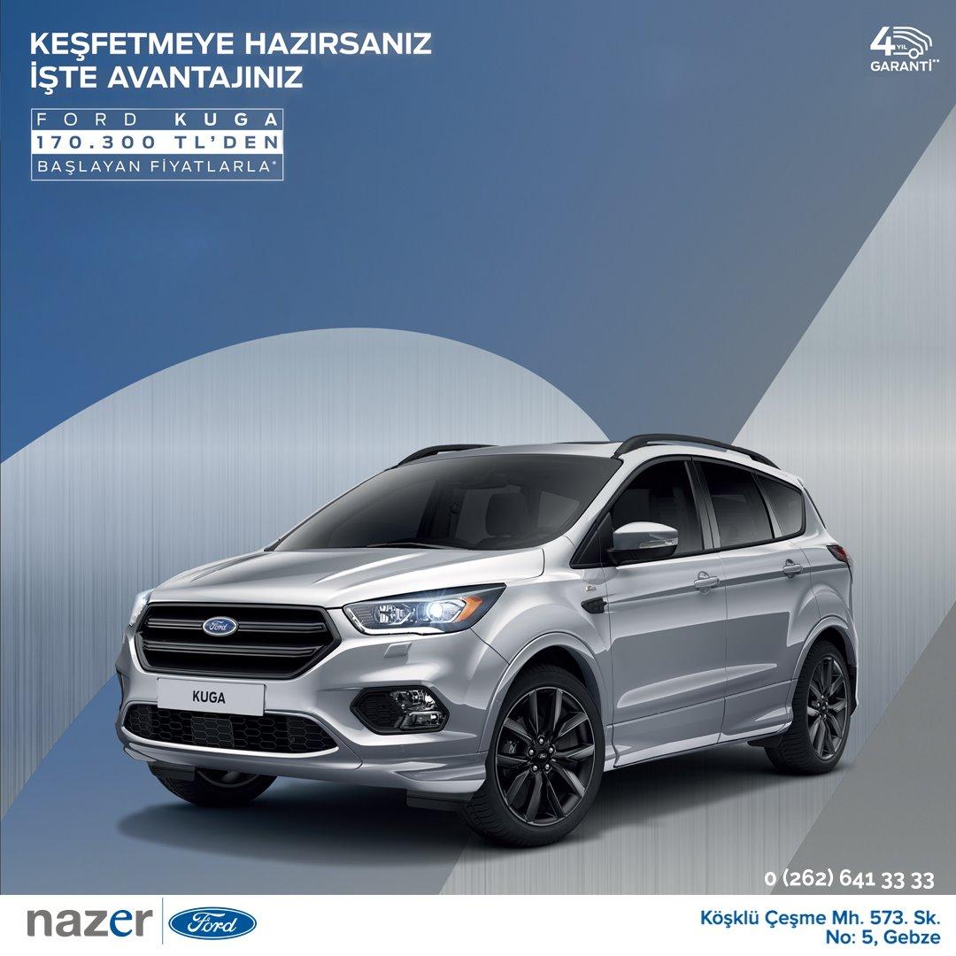 Ford Nazer'den Ağustos Ayı Fırsatları!